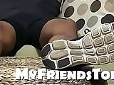 bareback, cum, cumshot, dick, fetish, foot, friends, gay