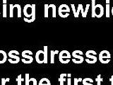 crossdresser, gay, sissy, submissive
