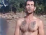 ass, caught, gay, naked, nude